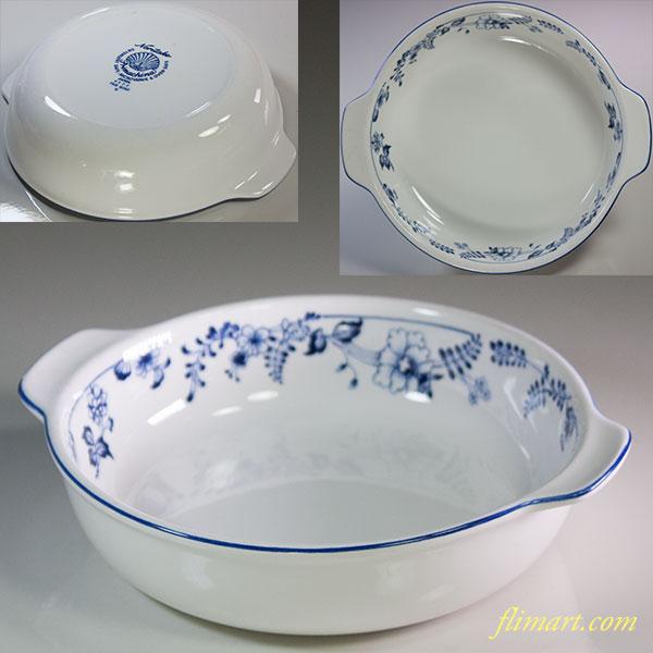 ノリタケプリマチャイナグラタン皿