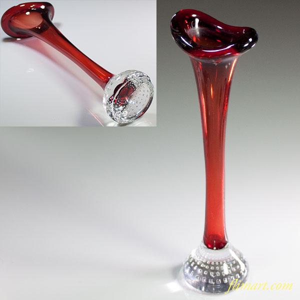 ガラス花瓶R5905