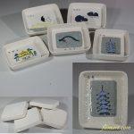昭和レトロ「旅情の小皿」スーベニール小皿5枚セット