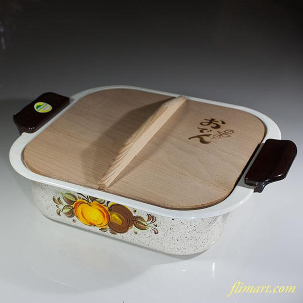 昭和レトロホーローおでん鍋R5920