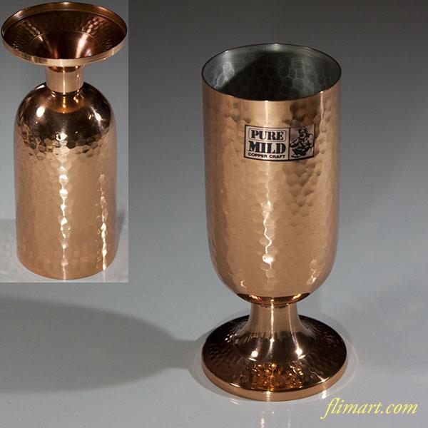銅製ビアーゴブレット