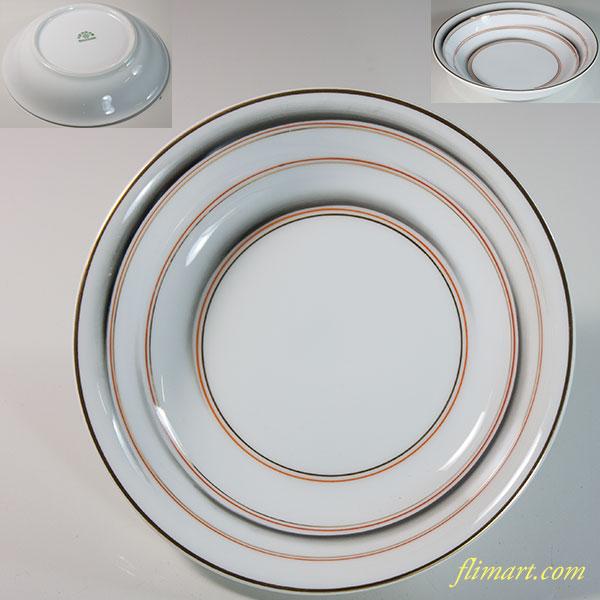 東洋陶器会社ベリー皿R5941