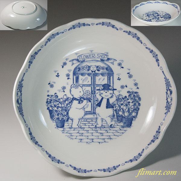 ニッコーテディベアシチュー皿