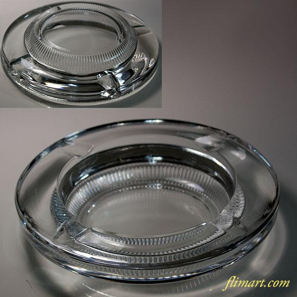 HOYA保谷クリスタルガラス灰皿R5963
