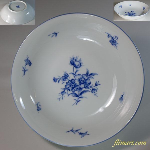たち吉アダム&イブ花柄カレー皿