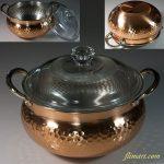 銅製両手鍋R6060