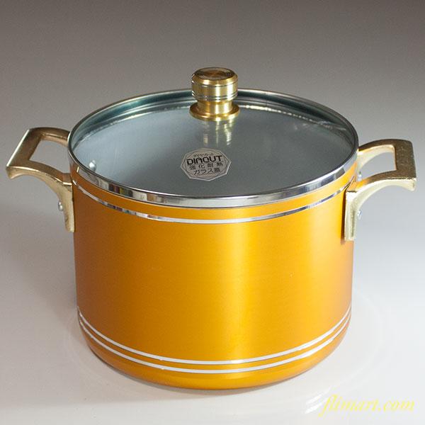 三洋金属ダイヤカットアルミ鋼両手鍋