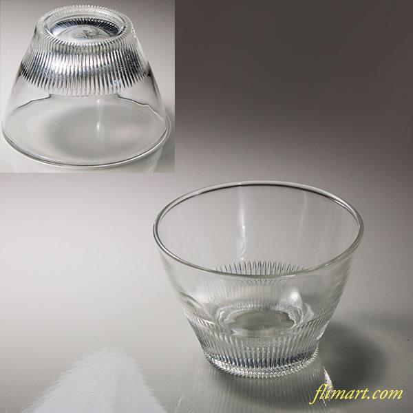 昭和レトロ保谷HOYA冷茶グラスR6032