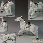 昭和レトロ馬のフィギュアR6074
