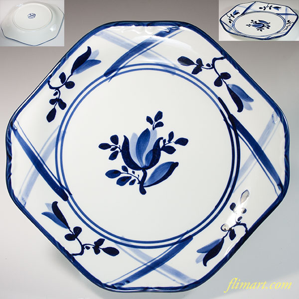 三郷陶器Sango EUROPEAN八角プレート