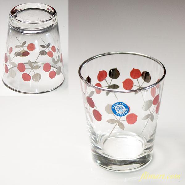 昭和レトロ佐々木グラスガラスコップR6134
