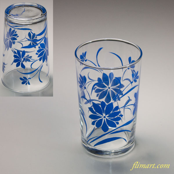 昭和レトロ佐々木グラスガラスコップR6128