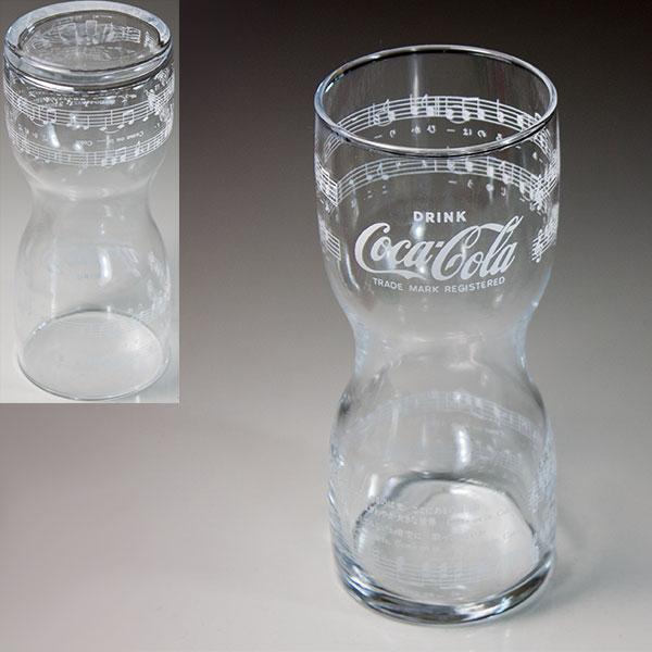 コカコーラガラスコップR6224