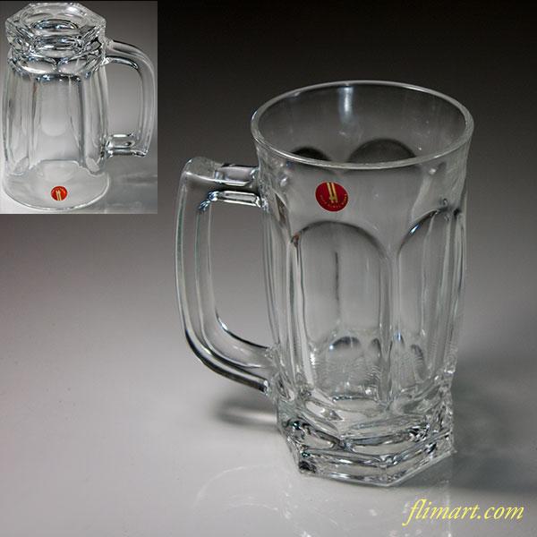 保谷HAYAガラスマグカップジョッキR6214