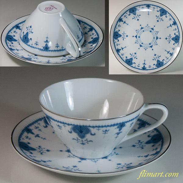 昭和レトロノリタケ日本陶器会社カップ&ソーサーR6219