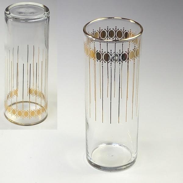 昭和レトロガラスコップR6636