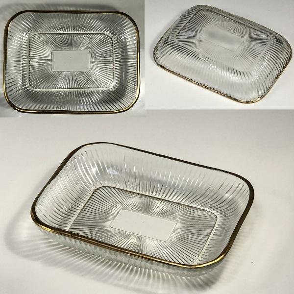 ガラストレイ小皿R6637