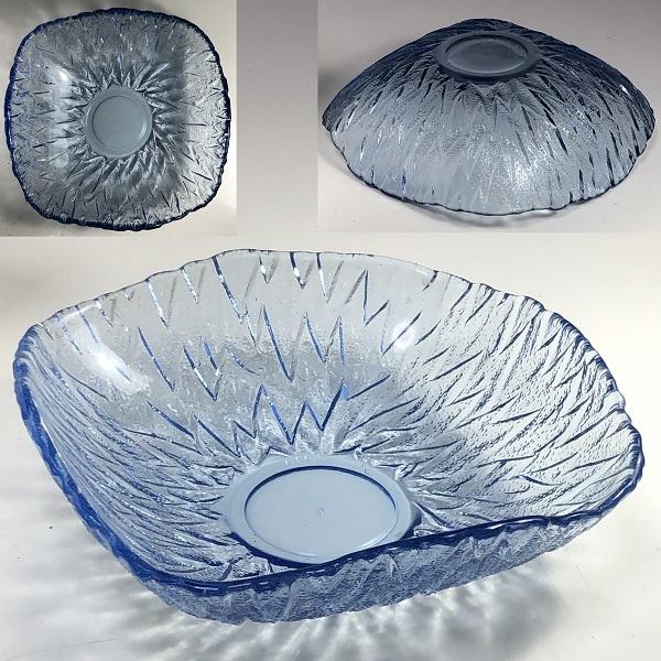 ソガグラス青ガラス小鉢R6642