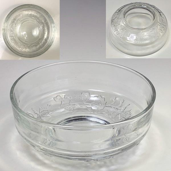 昭和レトロガラス小鉢R6656