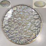 昭和レトロラスターガラス15.5cmプレート
