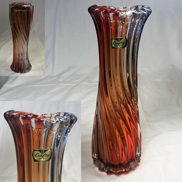 ソガグラスクラフティーガラス花瓶