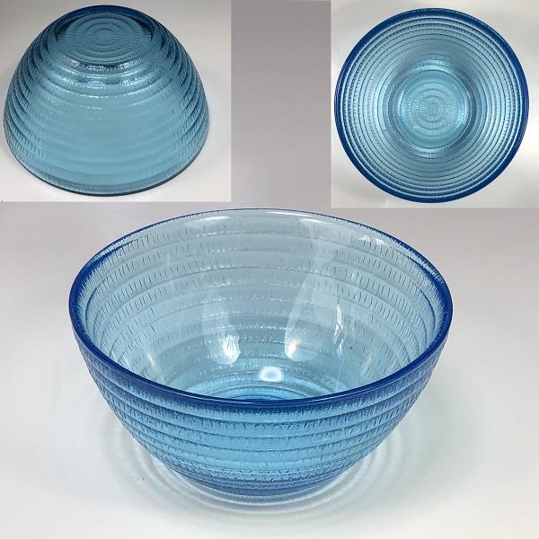 青ガラスボウルR6672