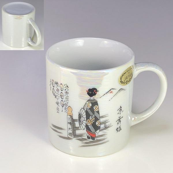 ラスター京舞妓マグカップ