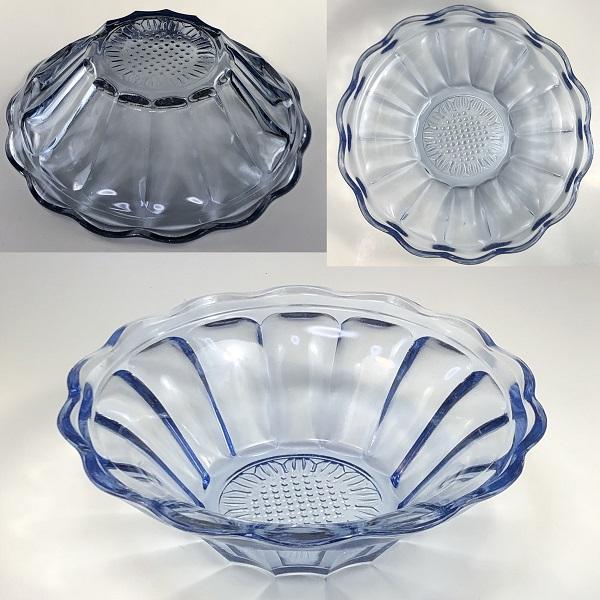 ガラスプレス皿カキ氷小鉢R6680