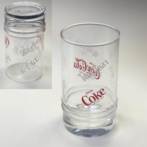 コカコーラガラスコップR6681