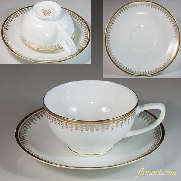 深川製磁ボーンチャイナインペリアルカップ&ソーサー