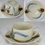 昭和レトロ碗皿カップ&ソーサーR6284