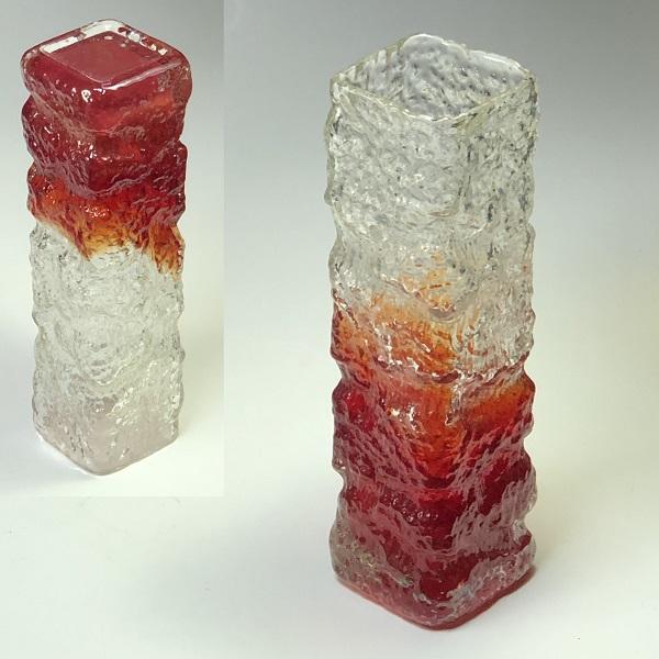 昭和レトロガラス花瓶R6701
