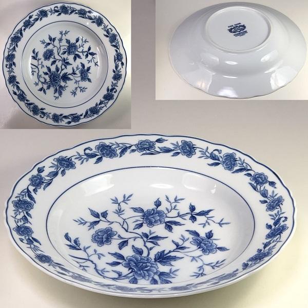 BLUE CHATHAM23cmスープ皿