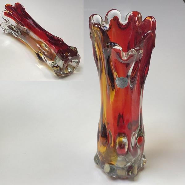 ガラス花瓶R6765
