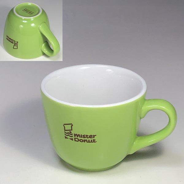 ミスタードーナツマグカップ緑
