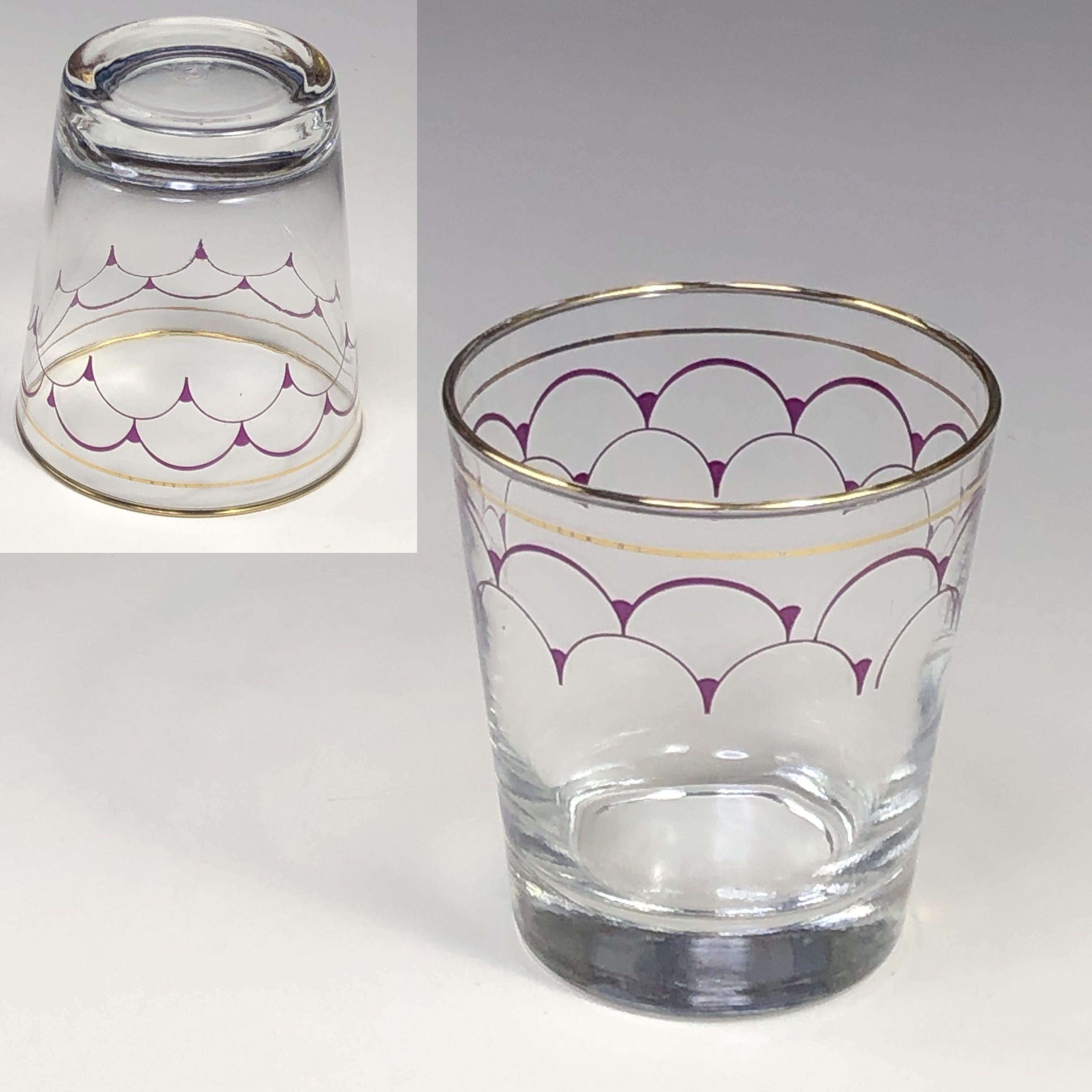 ロックグラスガラスコップR6789