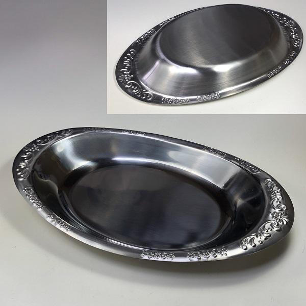 ステンレスカレー皿R6795