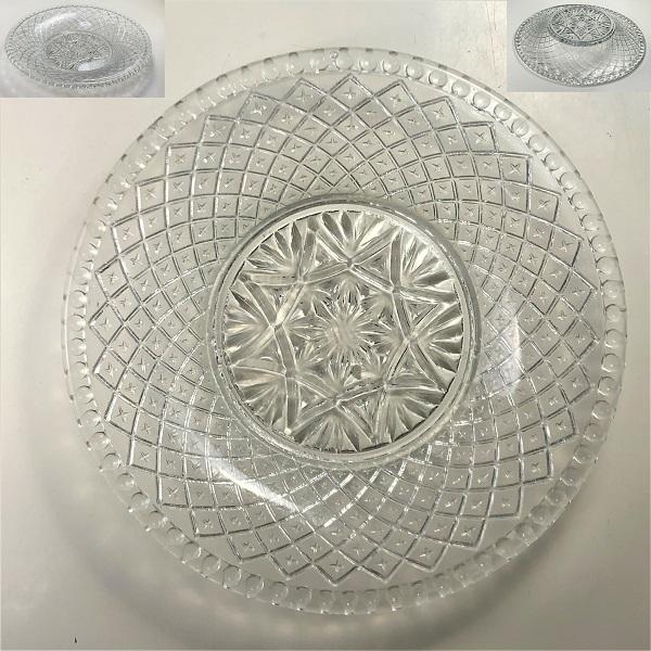 ガラスプレス皿R6849