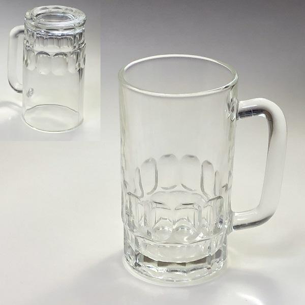 イタリー製ガラスマグカップR6852