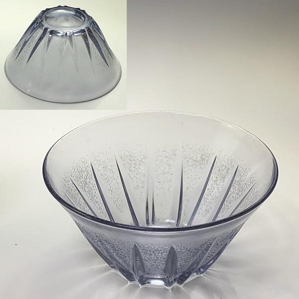 紫ガラス小鉢R6880