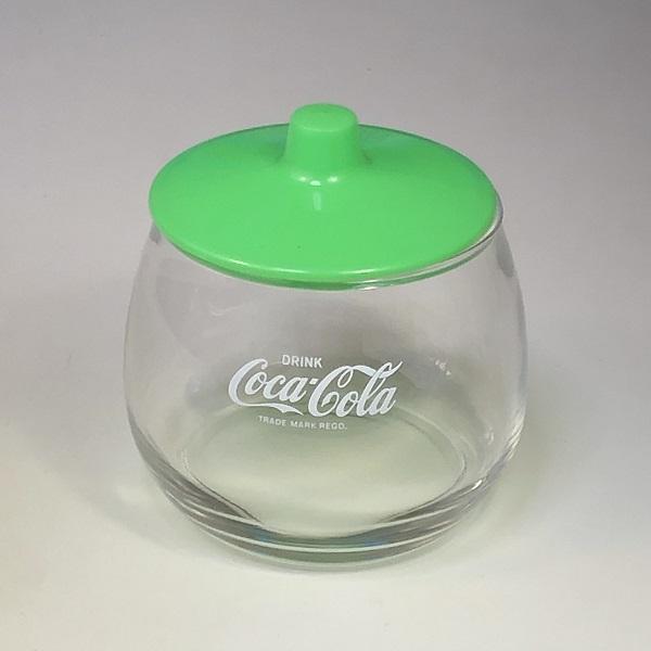 コカコーラガラスポット緑