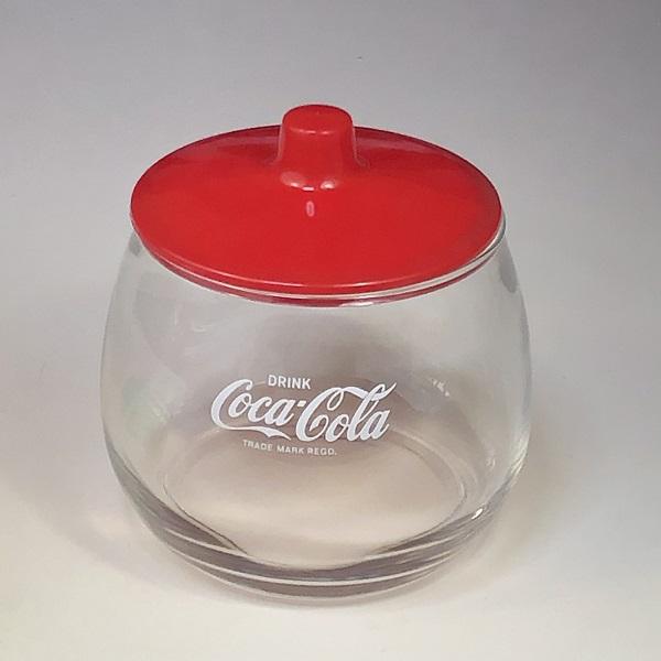 コカコーラガラスポット赤