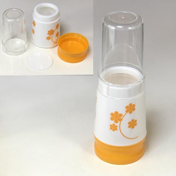 昭和レトロプラスチック製箸入れ