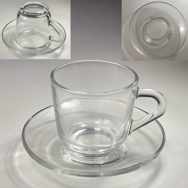 アデリアガラスカップ&ソーサーR6908