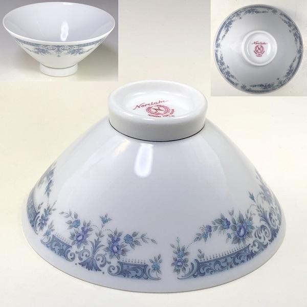 ノリタケブルーコンチェルト茶碗R6948