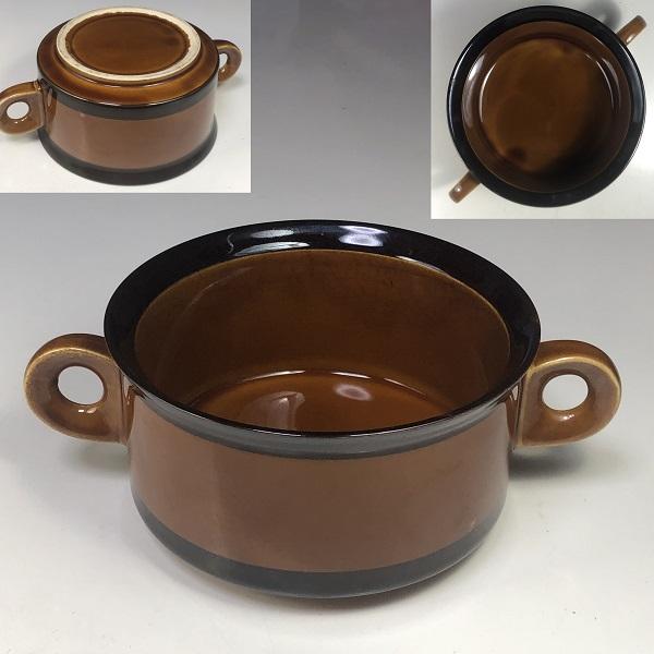 飴釉グラタン皿R6958