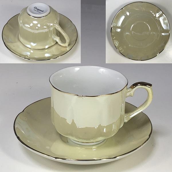 ラスターカップ&ソーサーR6977