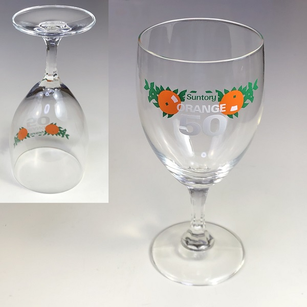 サントリーオレンジタブレットグラス