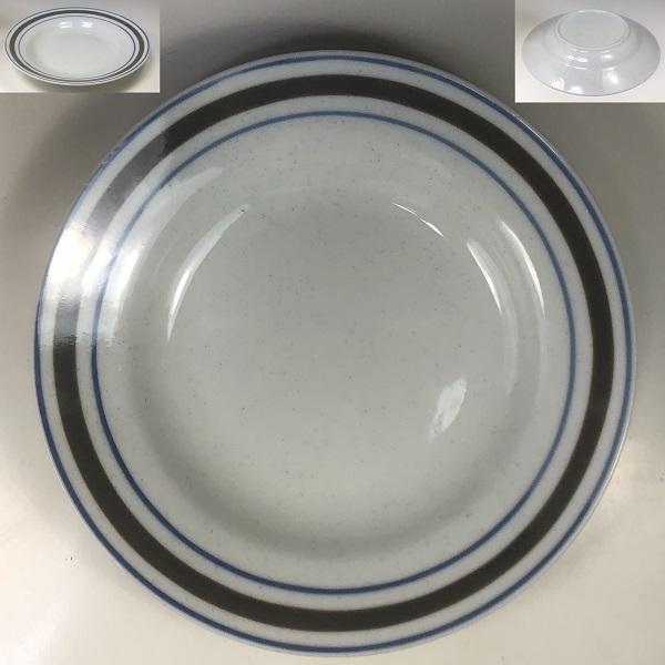 ストーンウェアカレー皿R7105