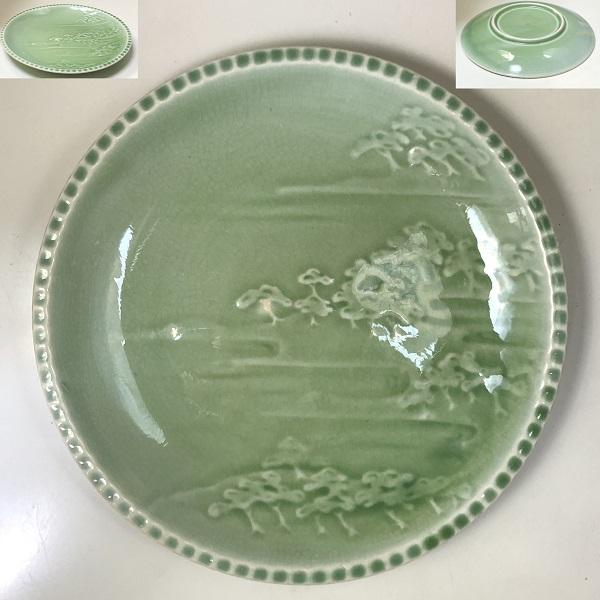 陽刻松原20cm皿